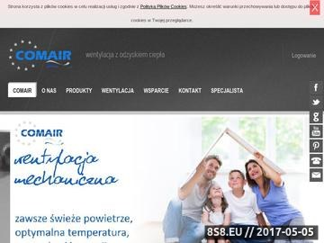 Zrzut strony Rekuperatory - Comair.pl