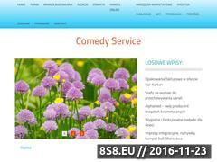 Miniaturka domeny comedyservice.pl