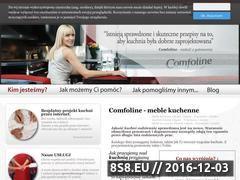 Miniaturka domeny www.comfoline.pl