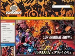Miniaturka domeny www.comicshop.com.pl