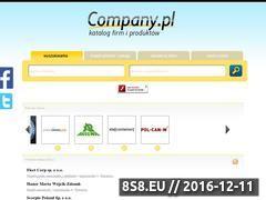 Miniaturka domeny www.company.pl