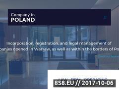 Miniaturka companyinpoland.info (Attorneys specializing in economic)