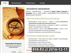 Miniaturka domeny www.compas-odszkodowania.pl