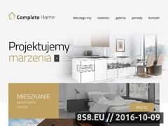 Miniaturka domeny completehome.pl