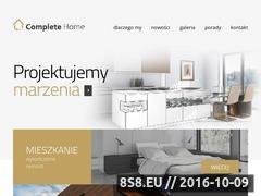 Miniaturka domeny completehome.pl