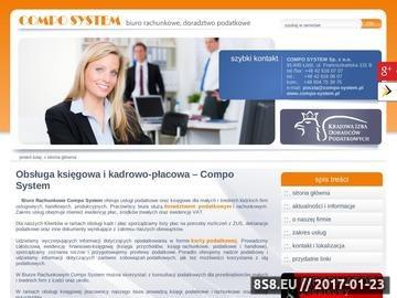 Zrzut strony Nadzór podatkowy Łódź