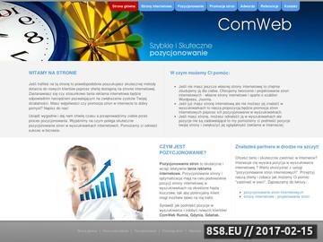 Zrzut strony Profesjonalne strony internetowe i wyjątkowo skuteczna reklama