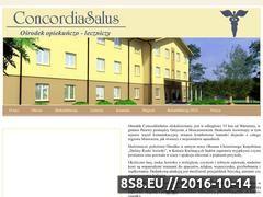 Miniaturka domeny www.concordiasalus.pl