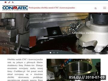 Zrzut strony Usługi obróbki metalu na automatach CNC