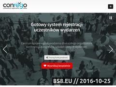 Miniaturka conrego.com.pl (Aplikacja do rejestracji uczestników wydarzeń)