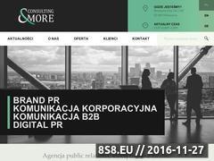 Miniaturka domeny consultingandmore.pl