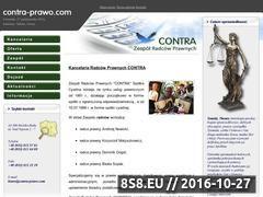 Miniaturka domeny www.contra-prawo.com
