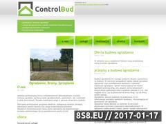 Miniaturka domeny controlbud.pl