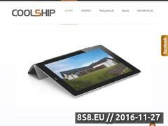 Miniaturka domeny coolship.com.pl