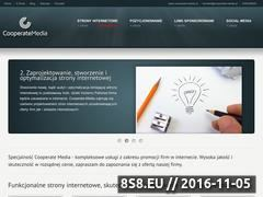 Miniaturka domeny www.cooperate-media.pl