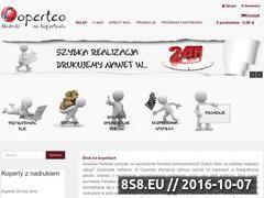 Miniaturka domeny www.coperteo.pl