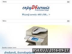 Miniaturka copy24serwis.pl (Solidny serwis drukarek i faksów Copy24serwis.pl)