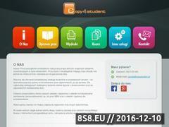 Miniaturka domeny www.copystudent.pl