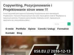 Miniaturka domeny copywriterexpert.pl
