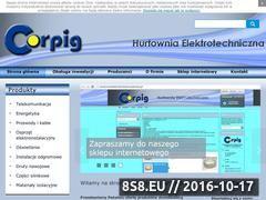 Miniaturka Materiały elektryczne oraz telekomunikacyjne (corpig.pl)