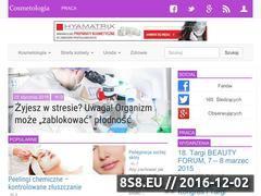 Miniaturka domeny www.cosmetologia.pl