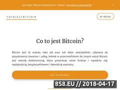 Miniaturka cotojestbitcoin.com (Co to jest Bitcoin)