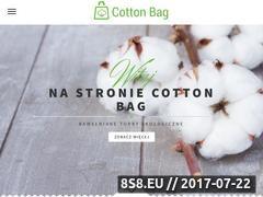 Miniaturka domeny cotton-bag.pl