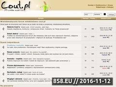 Miniaturka cout.pl (Forum młodzieżowe)