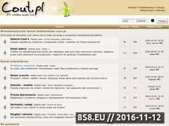 Miniaturka domeny cout.pl