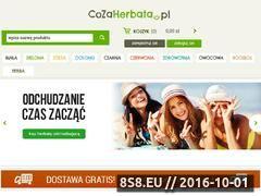 Miniaturka domeny www.cozaherbata.pl