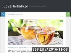 Miniaturka domeny www.cozaherbaty.pl