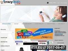 Miniaturka domeny crazydeals.pl