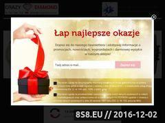 Miniaturka domeny crazydiamond.pl