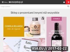 Miniaturka domeny www.crazyshop.pl