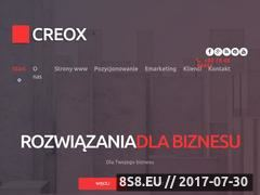 Miniaturka creox.pl (Profesjonalne pozycjonowanie)