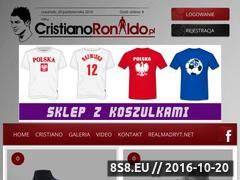Miniaturka cristianoronaldo.pl (Blog Cristiano Ronaldo - aktualności, zdjęcia i rodzina)