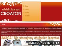 Miniaturka domeny www.croaton.pl