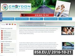 Miniaturka domeny www.croydonschoolofmotoring.co.uk