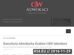 Miniaturka domeny cswadwokaci.pl