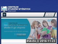 Miniaturka www.cswi.edu.pl (Studia wyższe Warszawa - studiowanie przez Internet)