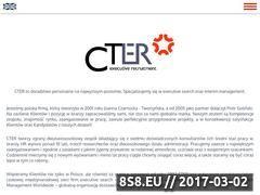 Miniaturka domeny cter.pl
