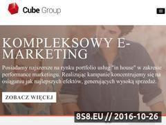Miniaturka domeny cubegroup.pl