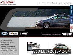 Miniaturka domeny www.cubik.pl