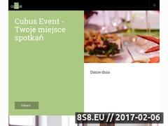 Miniaturka domeny cubus-event.pl