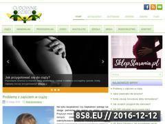 Miniaturka domeny www.cudownedzieci.pl