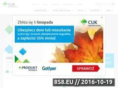 Miniaturka domeny www.cuk.com.pl