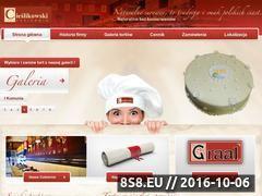 Miniaturka domeny www.cukierniacieslikowski.pl