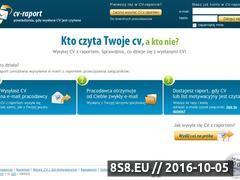 Miniaturka domeny www.cv-raport.pl