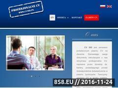 Miniaturka domeny www.cv365.pl