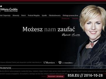 Zrzut strony Kancelaria Radcy Prawnego Wrocław Elżbieta Ćwikła : Rozwód : Obsługa prawna firm